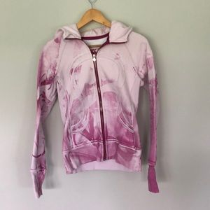 Lululemon Special edition scuba hoodie in pink